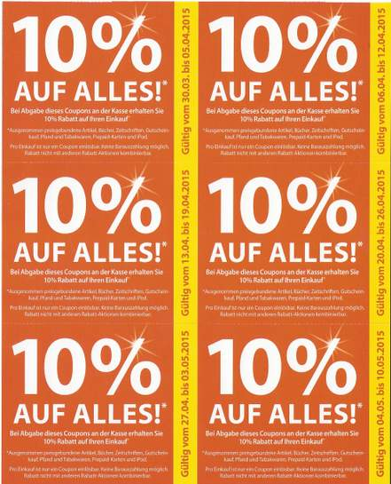 evtl bundesweit 10 rabatt coupons auf alles bei drogerie m ller. Black Bedroom Furniture Sets. Home Design Ideas