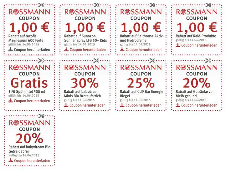 coupons zum ausdrucken rossmann. Black Bedroom Furniture Sets. Home Design Ideas