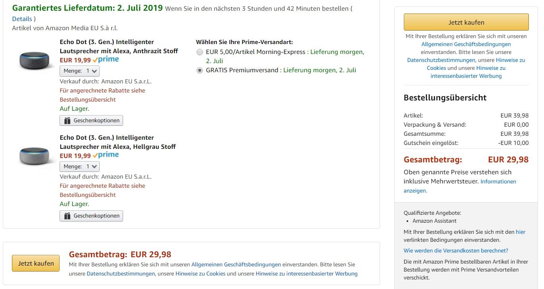 Mydealz Amazon Assistant