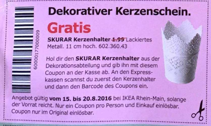 ikea skurar kerzenhalter lokal eventuell nur rhein main gebiet. Black Bedroom Furniture Sets. Home Design Ideas