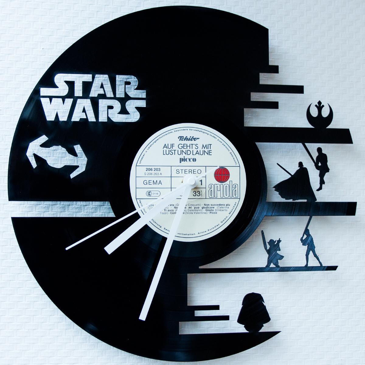 Gravurzeile] Schallplattenuhren | 15€ Gutschein | Uhr | Vinyl ...