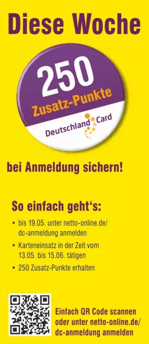Deutschlandcard 2 Karte Anmelden.250 Deutschlandcard Punkte Für Neuanmeldung Bei Netto Mydealz De