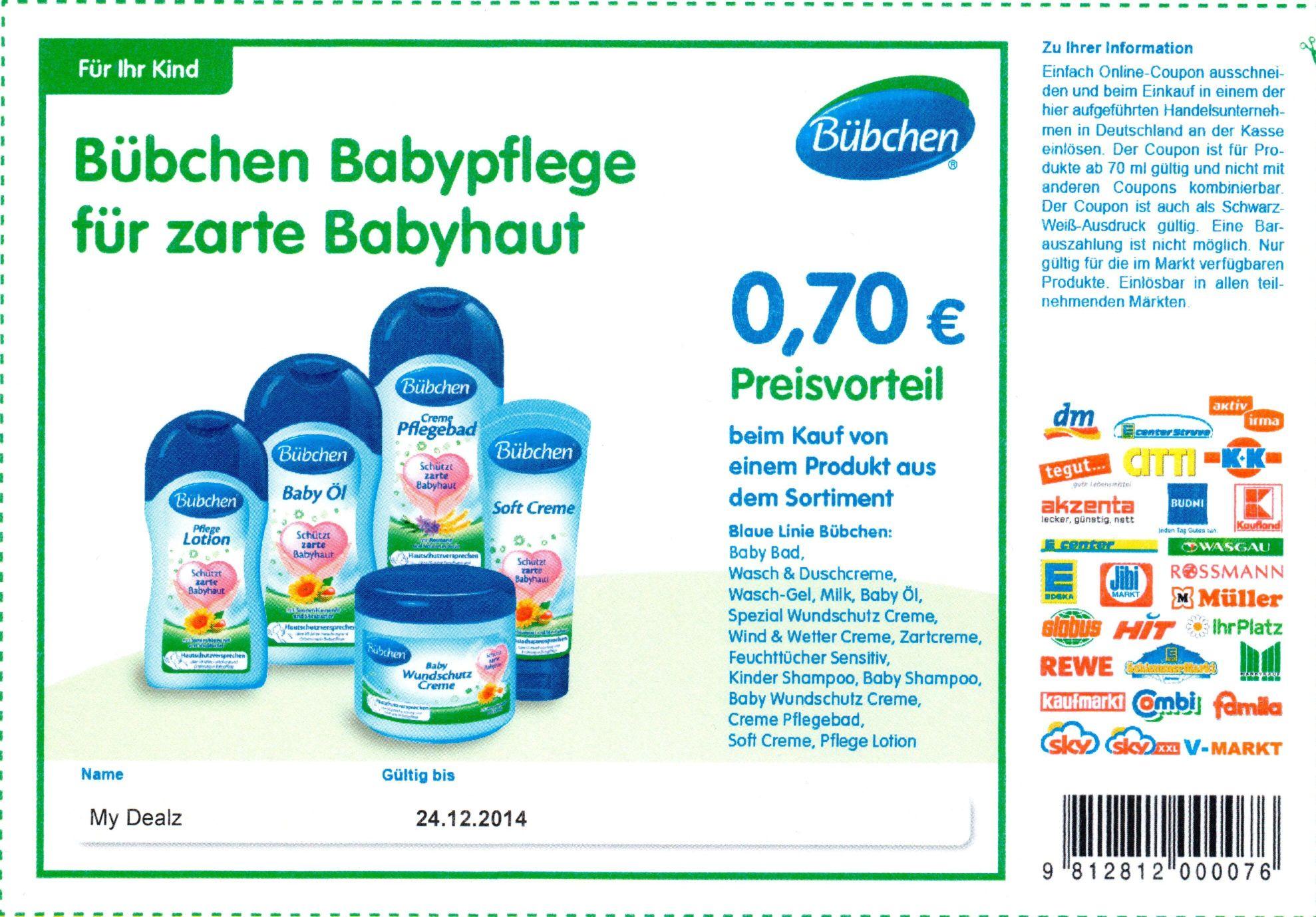 BUNDESWEIT] 16 Neue Sofort Rabatt Coupons auf Alete/Beba/Bübchen