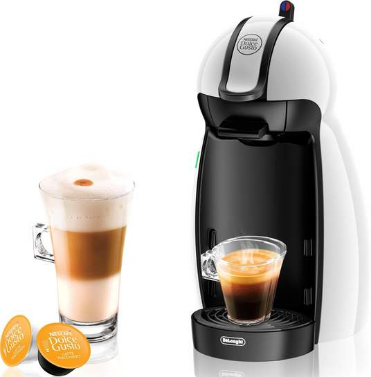 delonghi edg 100 w nescaf dolce gusto piccolo kaffeekapselmaschine manuell wei 40. Black Bedroom Furniture Sets. Home Design Ideas