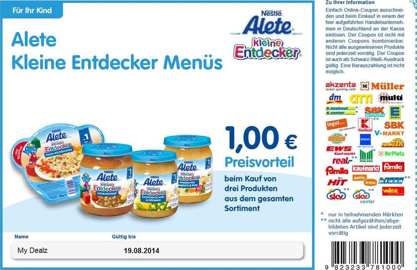 nestle rabatt coupons