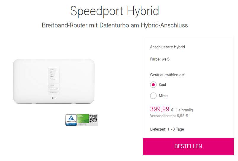 telekom speedport hybrid lte router bis 1300mbs wlan general berholt 24 monate gew f r 78 99. Black Bedroom Furniture Sets. Home Design Ideas