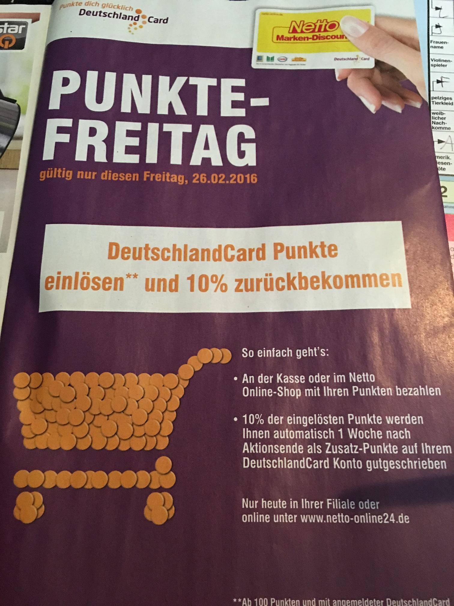 deutschlandcard mit punkten bezahlen