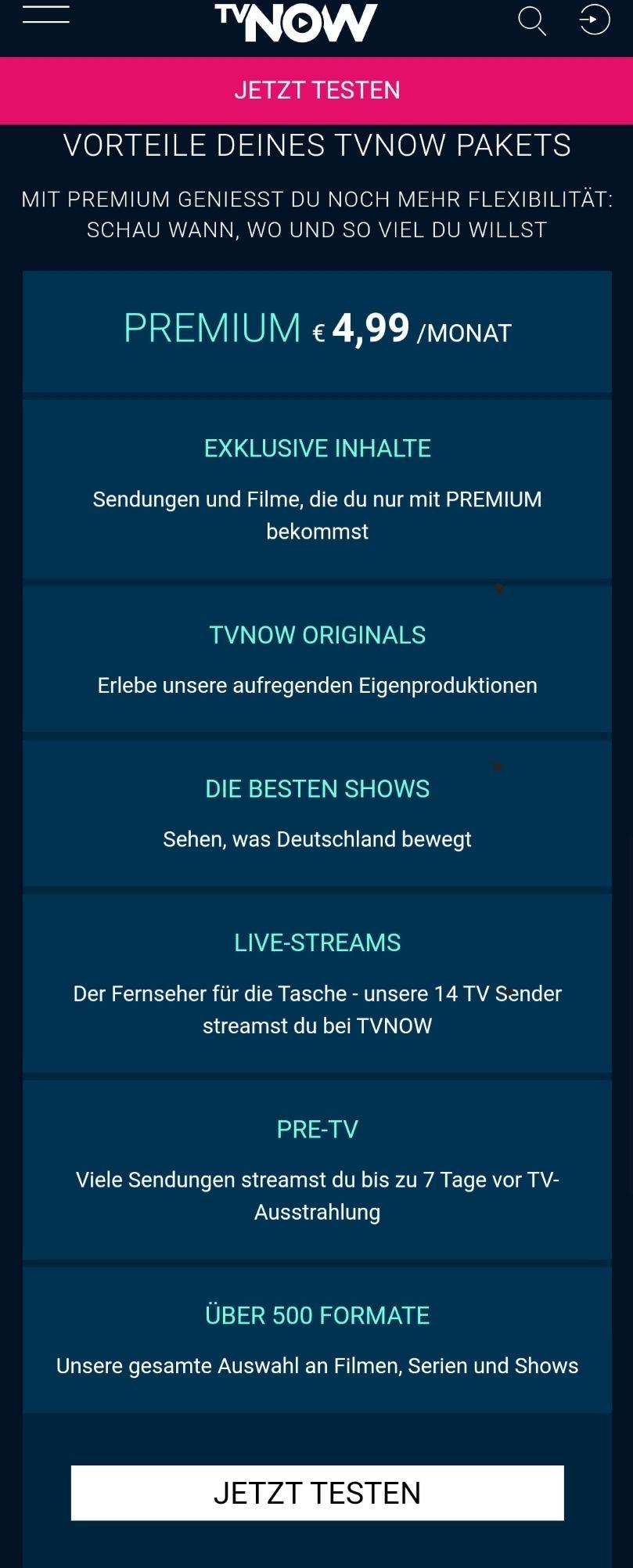 Tv Now Guthabenkarte