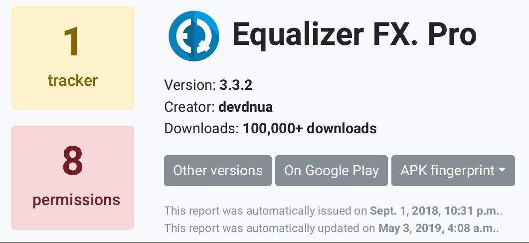 Free Android Apps: Equalizer FX Pro (4,3*), Clipboard