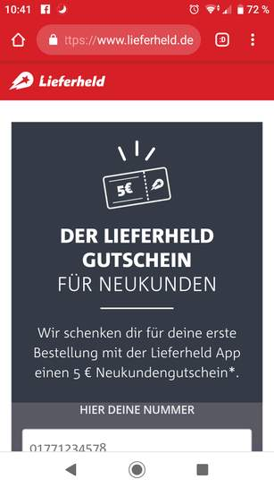HTTPS //WWW.LIEFERHELD.DE GUTSCHEIN