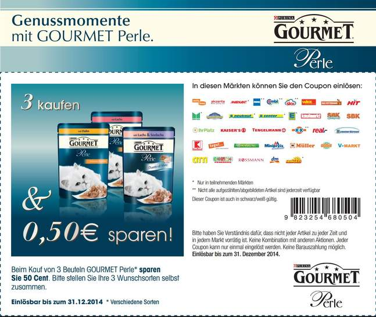 Supermarkt coupons