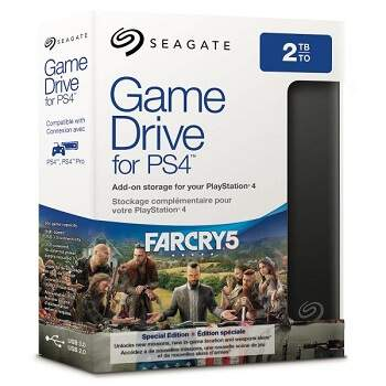Seagate Gamedrive for PS 4 Farcry