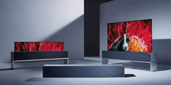 LG OLED Fernseher rollable TV