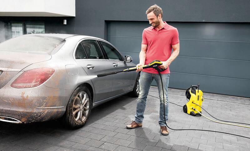 Kaercher Hochdruckreiniger Auto reinigen
