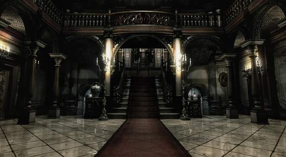 Resident Evil Umbrella Mansion