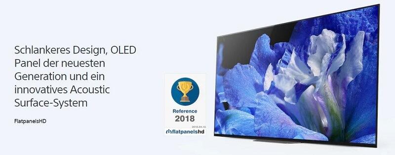 Sony AF8 OLED TV
