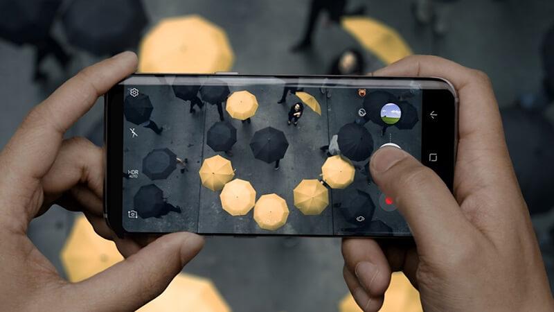Samsung Galaxy S8+ Kamera