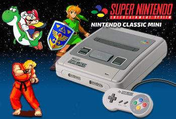 snes mini: nintendo classic mini