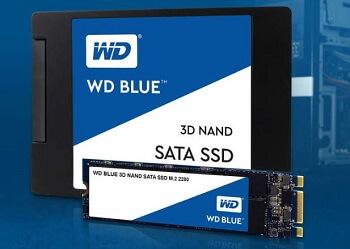 Western Digital WD Blue 3D NAND SSD
