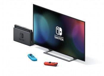 nintendo switch tv modus