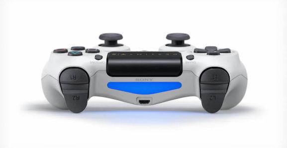 ps4 controller weiss