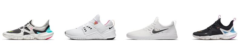 Nike Free Modelle