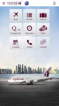 qatar airways app