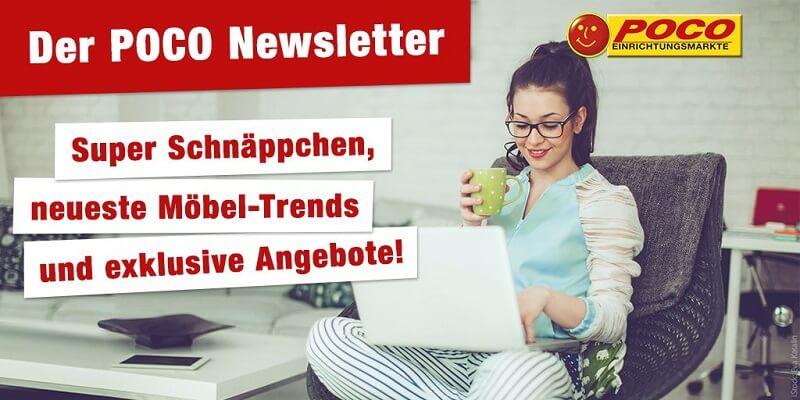 POCO Newsletter Schnaeppchen