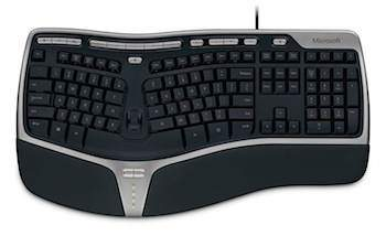 ergonomische tastatur microsoft