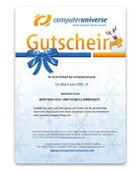 computeruniverse Geschenkgutschein