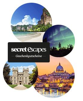 secret escapes geschenkgutschein