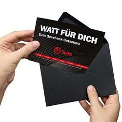 Teufel Geschenk-Gutschein