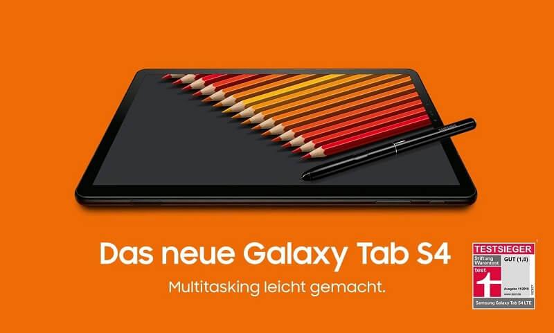 Samsung Tablet Galaxy Tab S4