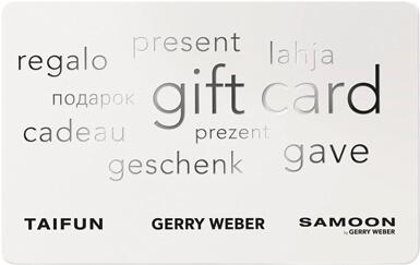 gerry weber geschenkgutschein
