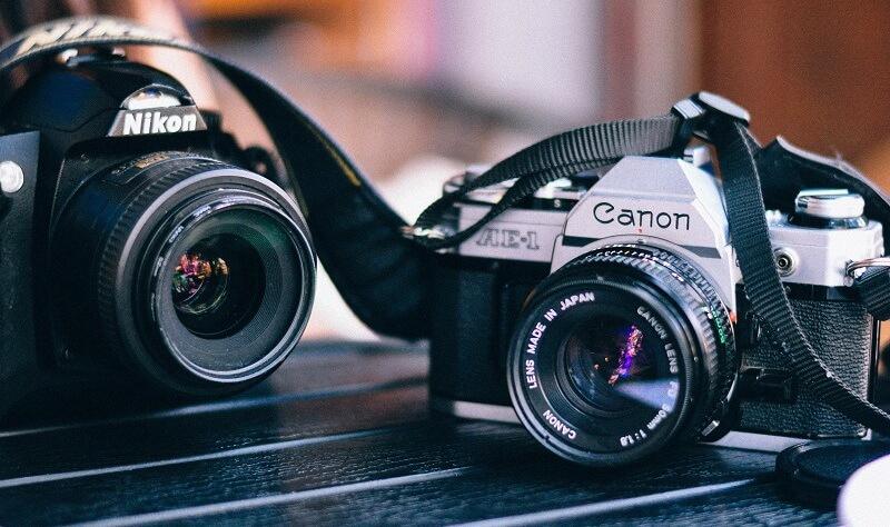 Nikon Canon Vergleich