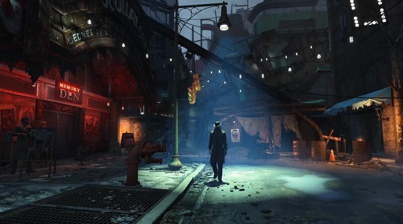 Fallout 4 Begleiter Nick Valentine