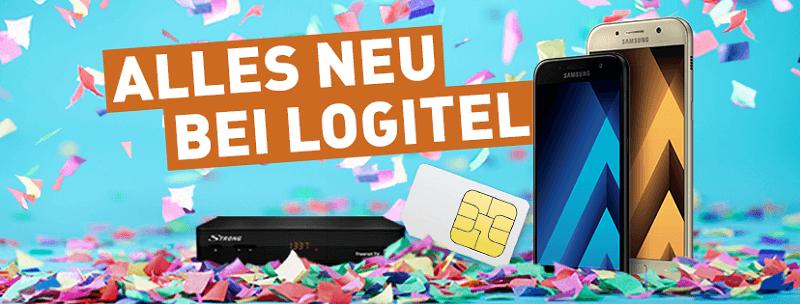 LogiTel Samsung Handy neu
