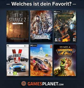 Gamesplanet Spiele Favoriten