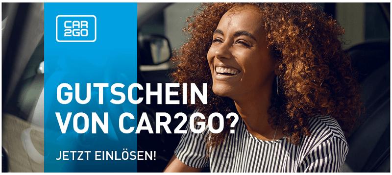 SHARE NOW Gutschein car2go