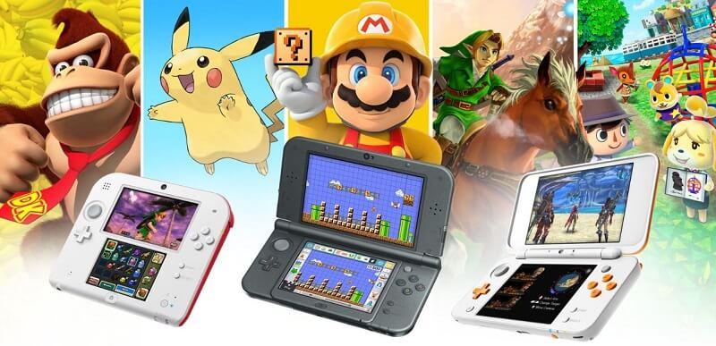 Nintendo 3DS Spiele 3DS Familie