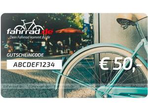 fahrrad.de Geschenkgutschein