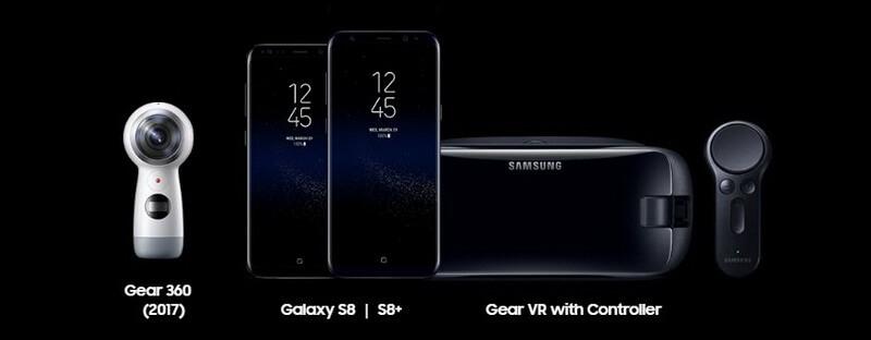 Samsung Galaxy S8 VR Gear