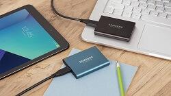 SSD Samsung externe Festplatte