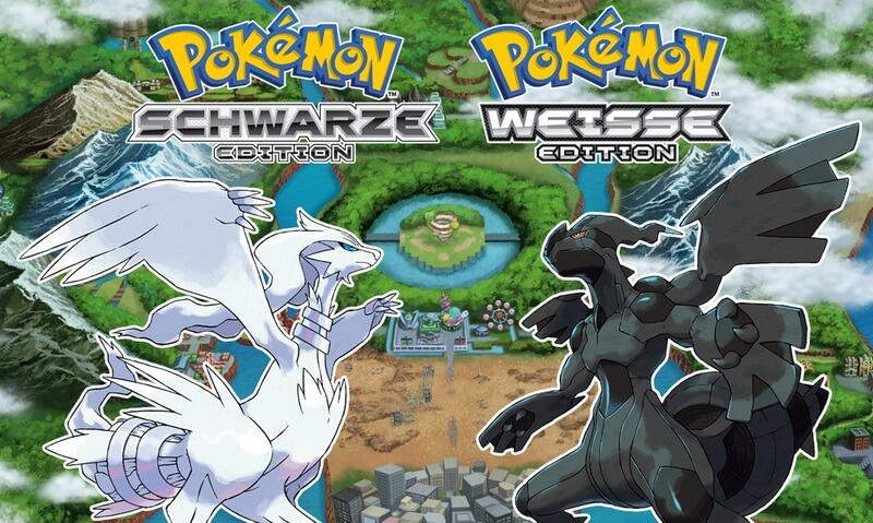 Pokémon schwarze weisse Edition