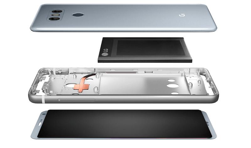 LG G6 Technik