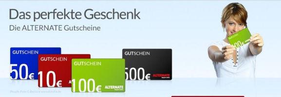ALTERNATE Gutschein Geschenkkarte