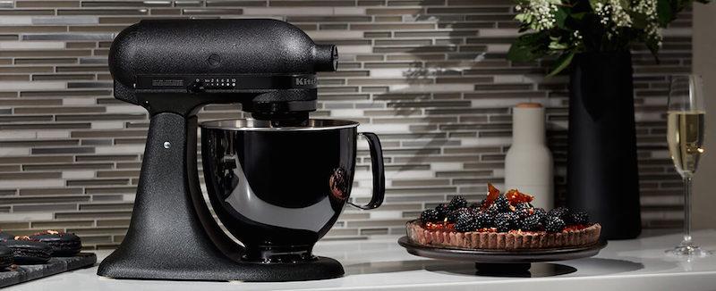 kitchenaid kuechenmaschine schwarz