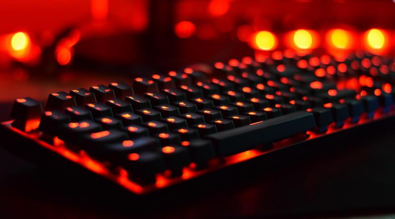 Gaming Tastatur Beleuchtung