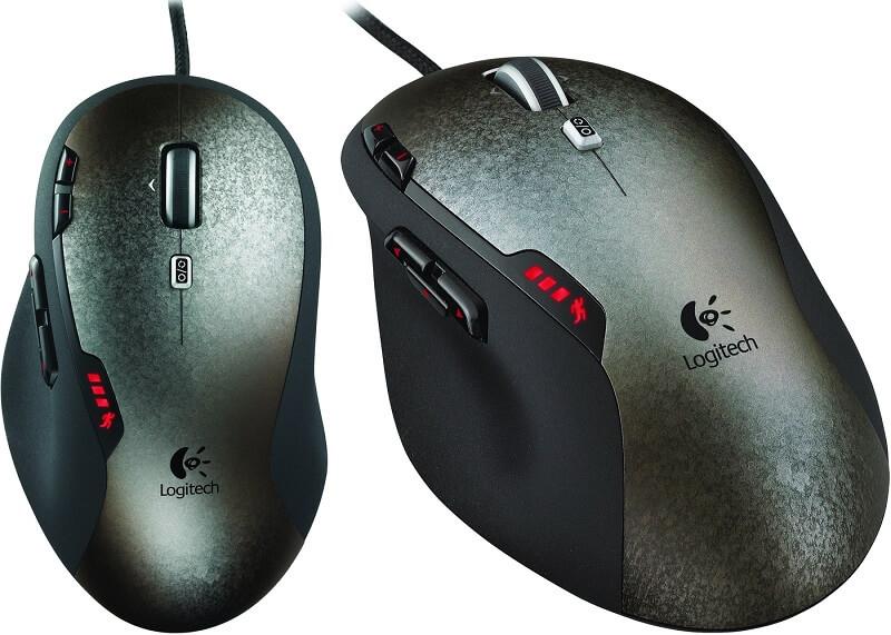 PC Maus Gaming Maus Logitech G500