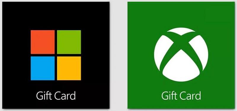 Microsoft Xbox Geschenkkarte Guthabenkarte